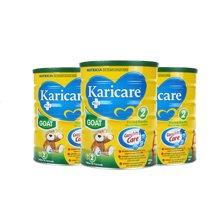 【澳洲空运直邮】澳洲婴儿奶粉可瑞康Karicare羊奶粉2段 900g*3罐装