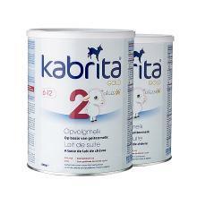 2罐*荷兰 佳贝艾特 Kabrita  羊奶粉 2段(6-12个月)800g 海外直邮