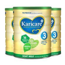 【三罐装】Karicare 新西兰 可瑞康 羊奶粉 3段 1岁以上