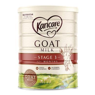 1罐*澳洲可瑞康羊奶Karicare嬰兒奶粉3段 適合1-3歲 寶寶 900g  【香港直郵】