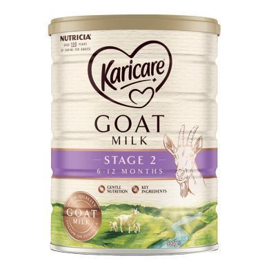 1罐*澳洲可瑞康羊奶Karicare嬰兒奶粉2段 適合6-12月 寶寶 900g  【海外直郵】