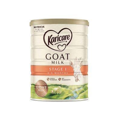 1罐*澳洲可瑞康羊奶Karicare嬰兒奶粉1段 適合0-6月寶寶 900g  【香港直郵】