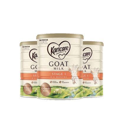 3罐*澳洲可瑞康羊奶Karicare嬰兒奶粉1段 適合0-6月寶寶 900g  【澳洲空運直郵】