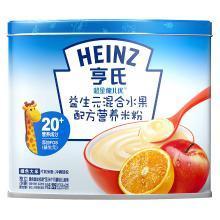 亨氏超金健儿优益生元混合水果配方营养米粉(225g)
