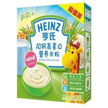 亨氏AD钙高蛋白营养米粉超值装(400g)