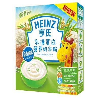 亨氏乳清蛋白營養奶米粉(400g)