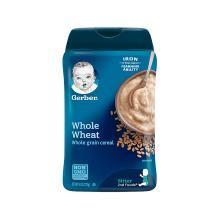 【香港直邮】Gerber 嘉宝 婴幼儿全麦混合米粉 二段 227克