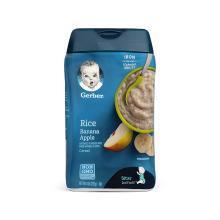 【香港直邮】Gerber 嘉宝 苹果香蕉 大米米粉 二段 227克