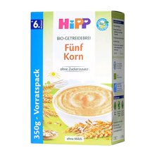 【德国】喜宝Hipp米粉有机五种谷物混合米粉350g