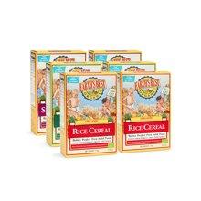 Earths Best愛思貝德國進口嬰幼兒米粉米糊寶寶零食混合6盒裝
