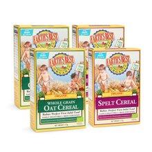 Earths Best愛思貝德國進口嬰幼兒米粉寶寶零食米糊混合4盒裝
