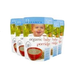 【澳洲空运直邮】澳洲贝拉米有机婴儿米粉米糊宝宝辅食,燕麦(5月以上) 125g*6包装