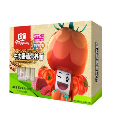 方广 牛肉番茄营养面条 300G