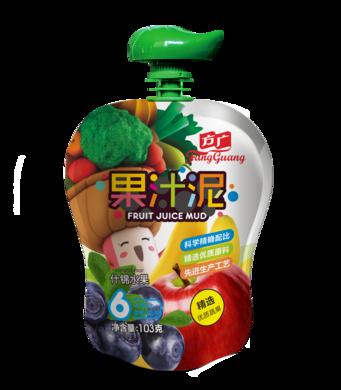 方廣什錦水果果汁泥103G嬰兒果泥 寶寶果泥