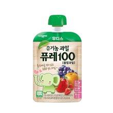 【韩国】日东福德食 婴幼儿营养果泥80g (混合水果)