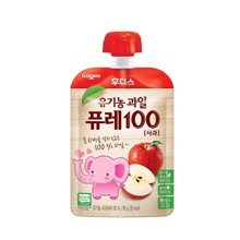【韩国】日东福德食 婴幼儿营养果泥80g (苹果味)