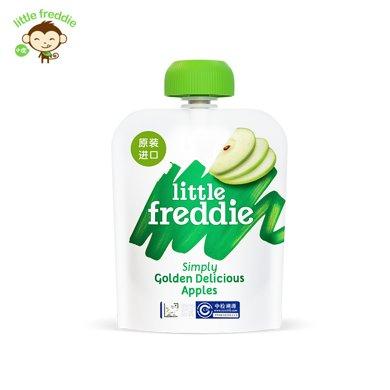 小皮歐洲原裝進口金冠蘋果泥70g/袋寶寶嬰兒輔食泥
