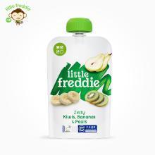 小皮歐洲原裝進口獼猴桃香蕉梨子果泥100g/袋寶寶嬰兒輔食零食