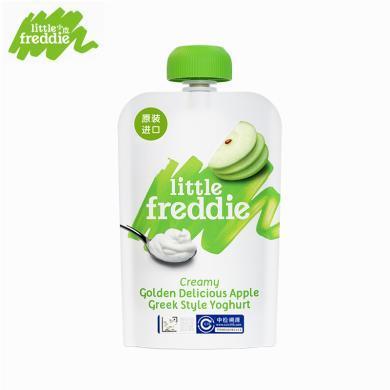 小皮歐洲原裝進口藍莓酸奶果泥100g寶寶輔食零食吸吸樂