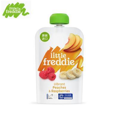 小皮 歐洲進口樹莓香蕉蘋果桃泥100g 輔食泥
