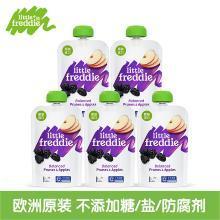 小皮欧洲原装进口西梅苹果泥100g*5袋装 宝宝婴儿辅食多种维生素