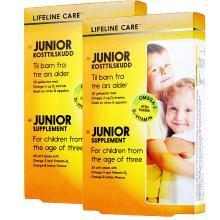 【2盒】挪威Lifeline Care 儿童果冻鱼油DHA维生素D3聪明长高 软糖 30粒/盒
