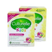【2盒】 美国Culturelle for kids康萃乐婴幼儿童LGG益生菌粉30袋
