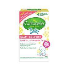 美國Culturelle for kids康萃樂 嬰幼兒舒緩益生菌洋甘菊滴劑 8.5ml 紅