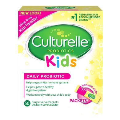 【支持购物卡】美国Culturelle for kids康萃乐 婴幼儿童LGG益生菌粉50袋/盒