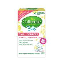 【支持購物卡】美國Culturelle for kids康萃樂 嬰幼兒舒緩益生菌洋甘菊滴劑 8.5ml 紅