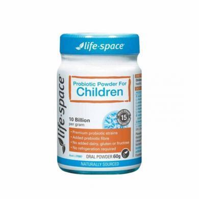 澳洲Life Space 兒童益生菌粉調理腸胃 60g 海外直郵