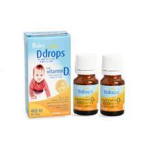 2瓶*加拿大維生素D3Baby Ddrops嬰兒童維生素 VD D3滴劑【香港直郵】