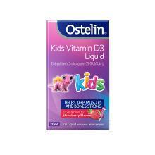澳洲Ostelin 钙滴剂儿童维生素D滴剂 强健骨骼 增强免疫 20ml 海外直邮