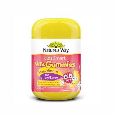 澳洲Natures Way佳思敏偏食兒童復合維生素軟糖 60粒 海外直郵