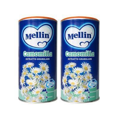 【2盒】意大利Mellin美林camomilla白菊花晶200g