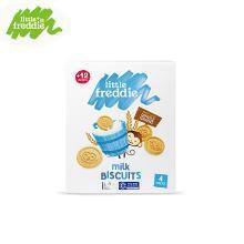 小皮欧洲原装进口全谷物牛奶饼干80g 婴儿磨牙饼干儿童零食