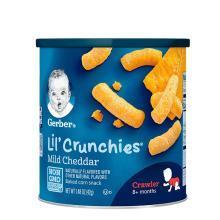 美国嘉宝Gerber泡芙条婴儿泡芙条42g 切达奶酪味