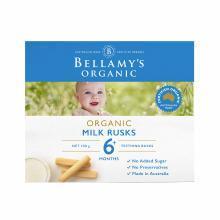 澳洲Bellamys Organic貝拉米牛奶磨牙棒 6+ 100g 海外直郵