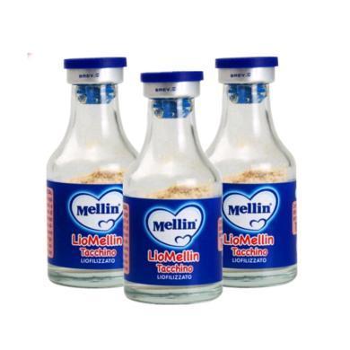 【支持購物卡】【3瓶】意大利Mellin美林肉松10g 火雞肉