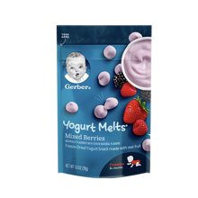 【香港直邮】美国Gerber嘉宝 混合莓果味酸奶小溶溶豆宝宝零食3段8个月以上28g*1袋
