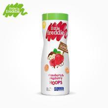小皮欧洲原装进口草莓树莓泡芙42g/罐 婴幼儿宝宝零食辅食儿童
