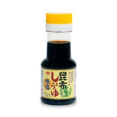 【支持購物卡】日本長工 昆布低鹽嬰兒醬油 低鹽減鹽海帶 嬰幼兒寶寶調味料 100ml