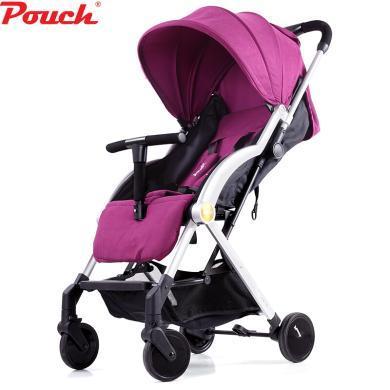 POUCH 帛琦 婴儿推车超轻便可坐可躺便携式伞车折叠婴儿车儿童手推车A22