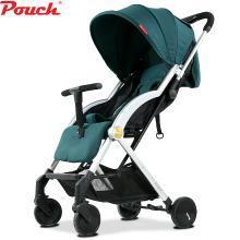 POUCH 帛琦 嬰兒推車超輕便可坐可躺便攜式傘車折疊嬰兒車兒童手推車A22