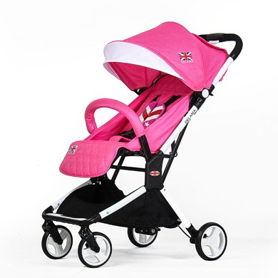 英国Delama德拉玛婴儿推车高景观可坐躺可登机超轻便携宝宝手推车