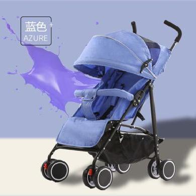 英萊兒 便攜嬰兒推車可坐可躺傘車折疊簡易四輪避震寶寶手推小嬰兒車stc23