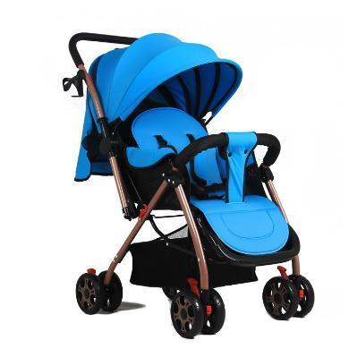 英莱儿 婴儿推?#30331;?#20415;可坐?#21830;?#20254;车超轻便携折叠儿童手推车 宝宝推车s16