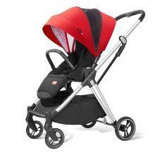 Pouch 帛琦 嬰兒推車輕便簡易折疊寶寶推車雙向可坐可躺便攜兒童手推車 A60