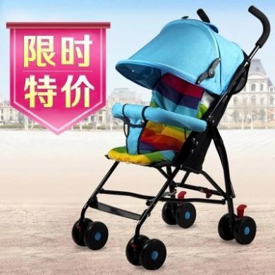 英萊兒 便攜式嬰兒車輕便折疊超輕小孩夏天手推車BB寶簡易兒童車夏季傘車 sbc24