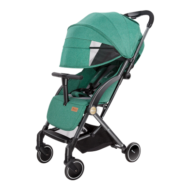 Pouch 帛琦 嬰兒推車一鍵收車輕便折疊傘車 高景觀可坐可躺避震寶寶嬰兒車 S350升級版